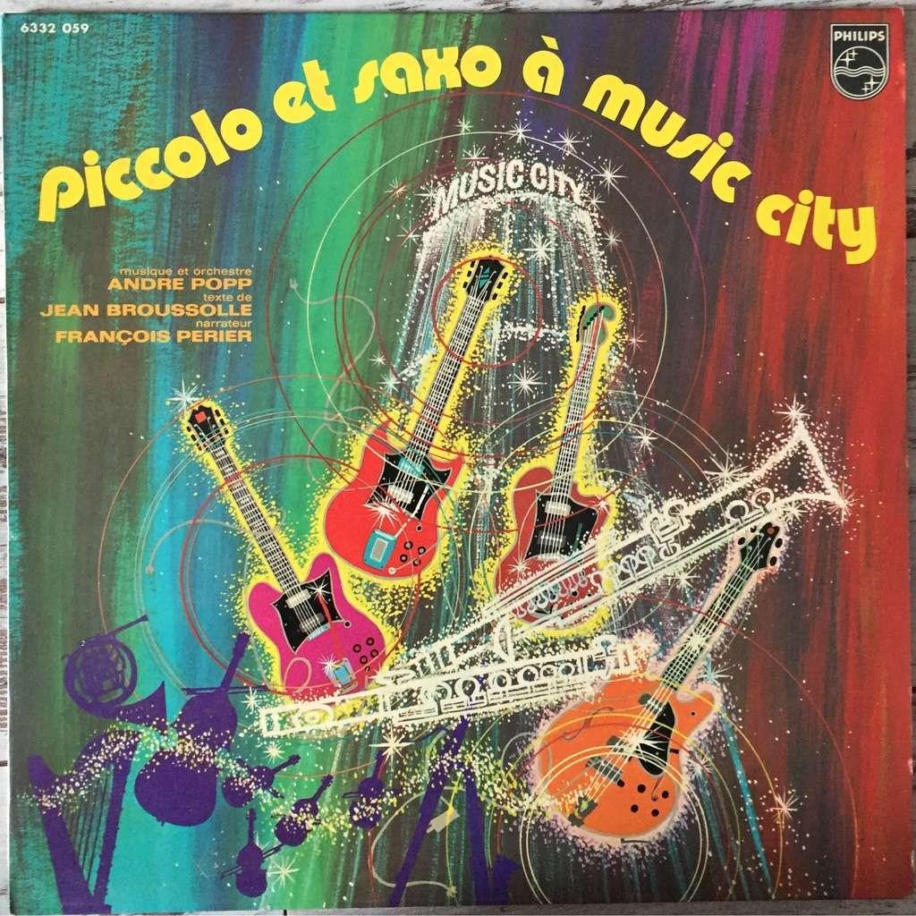 Piccolo & Saxo à Musique City <br/>(via Spotify)